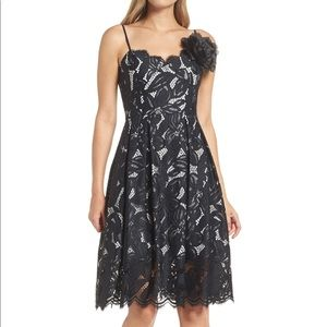 Lilly Pulitzer Camella Black Lace Dress